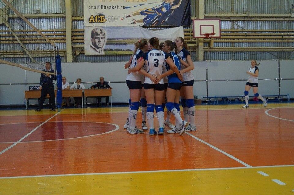 ВК «Рязань» в Брянске проиграл заключительный матч сезона.