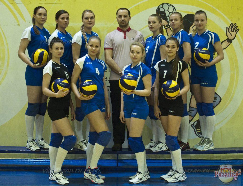 ВК «Рязань» принимает сверстниц из г.Тулы