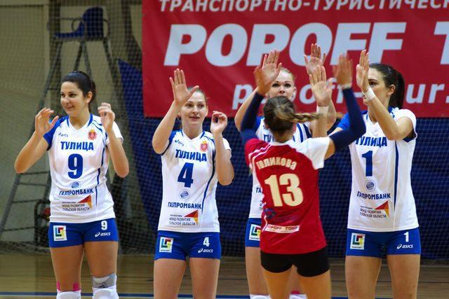 Волейболистки «Рязани», в матчах 4-го тура, проиграли в гостях «Тулице»