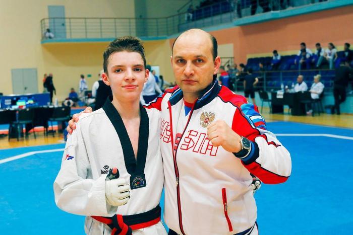 Рязанский тхэквондист-«юпитерец» Илья Юшкин – серебряный призер молодежного Первенства России
